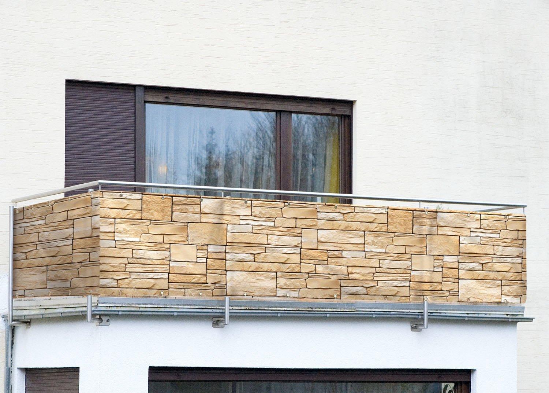 Balkonumrandung Sichtschutz Sonnenschutz